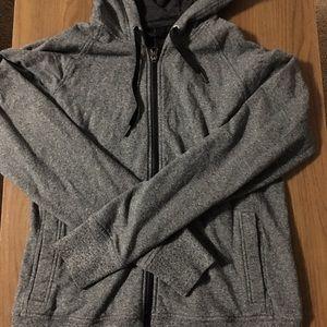 Lululemon size 6 gray hoodie.